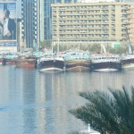 Ships on Dubai Creek