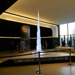 Model of the Burj Khalifa