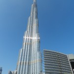The tallest building in the world.....The Burj Khalifa