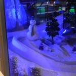 This is part of the ski slope at Dubai's Emirates Mall