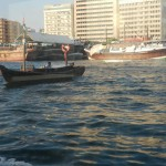 Water taxi on Dubai Creek