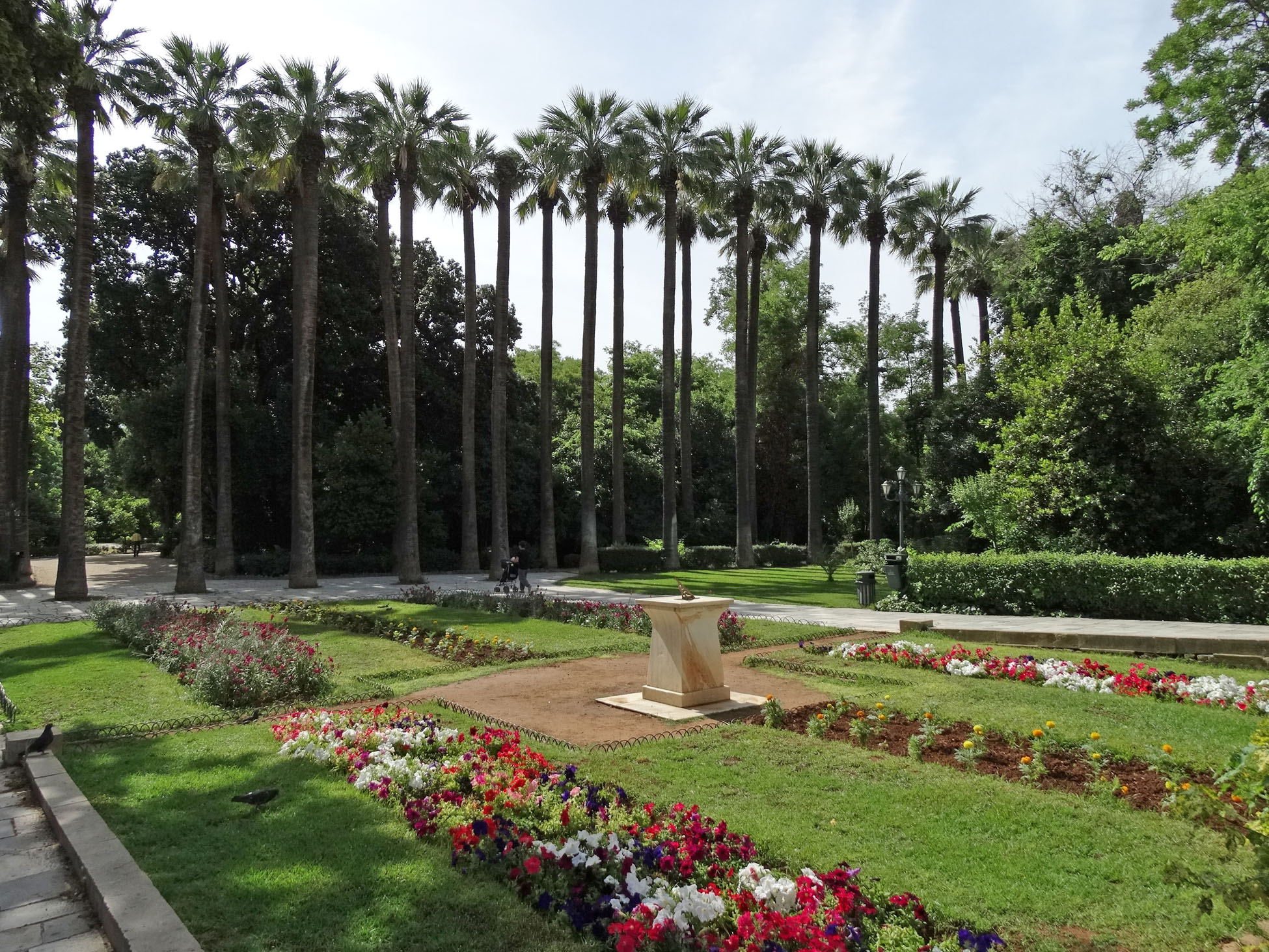 Image result for photos of THE NATIONAL GARDENS IN ATHENS
